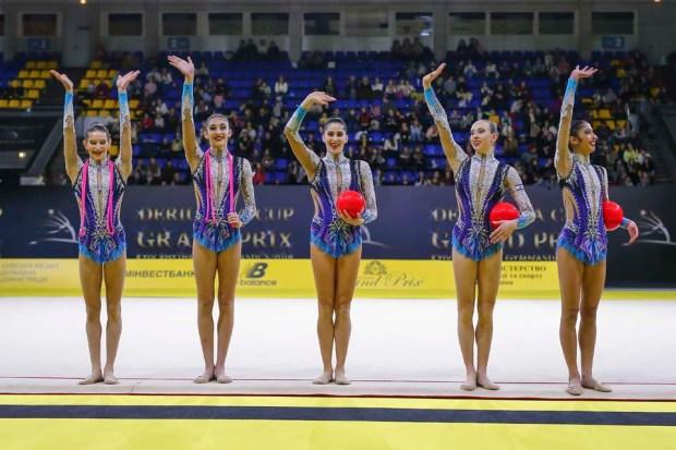 Сборная Израиля по художественной гимнастике. Фото: Улрич Фаббендер