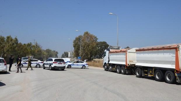 Полиция перекрывает дороги около границы с Газой: обнаружен туннель (архив)