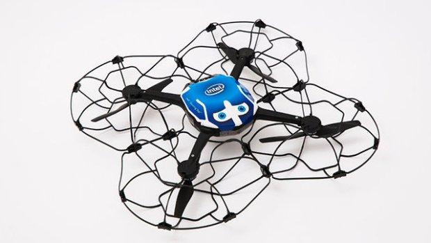 Так выглядит дрон. Фото: Intel