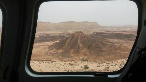 Фото: спасательный отряд района Хар ха-Негев