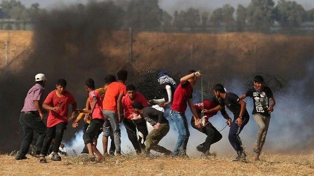 Беспорядки на границе с Газой. Фото: AFP (Photo: AFP)