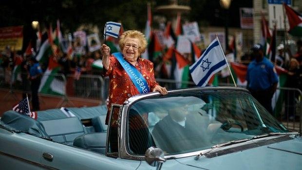 Нью-Йорк отмечает 70-летие Израиля. Фото: AP (Photo: AP)