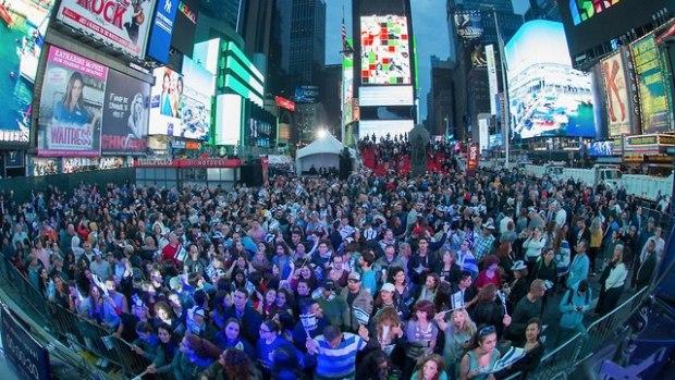 Фестиваль на Таймс-сквер. Фото: Алексей Розенфельд