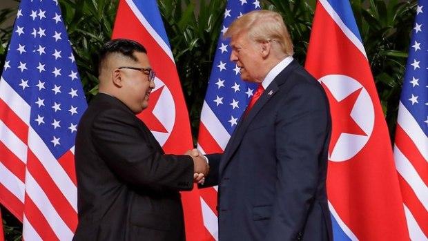 Историческая встреча. Фото: AP (Photo: AP)
