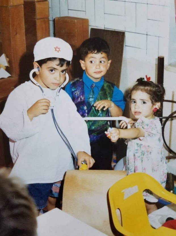 Рабеа Шакур с сестрой и братом. Фото предоставлено семьей