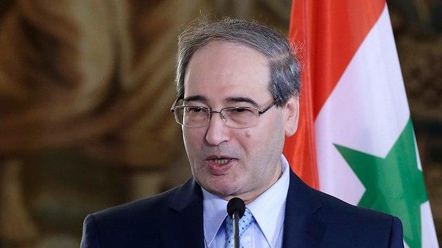 Syrian Deputy Foreign Minister Faisal Mekdad (Photo: AP)