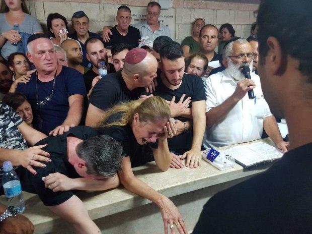 Похороны  Ким Лебенгрунд-Йехезкель. Фото: Ярив Кац