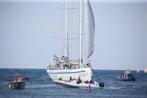 Яхта Elida в Герцлии. Фото: Моти Кимхи