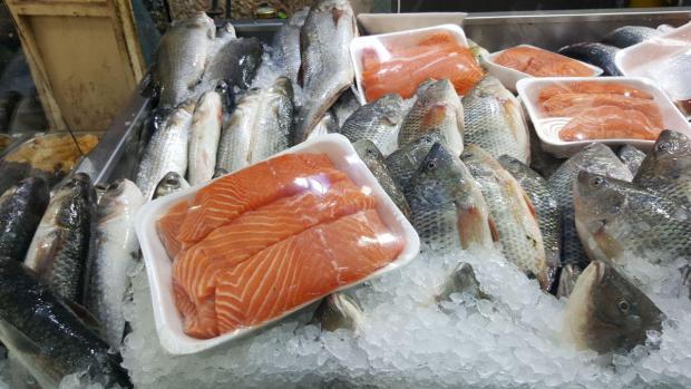 Свежий улов из Средиземного моря и рыбоводческих хозяйств Израиля