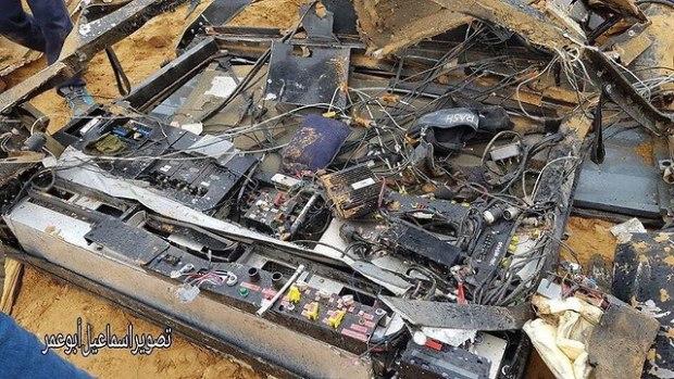 Средства связи, находившиеся в машине, уничтоженной при отходе ЦАХАЛа