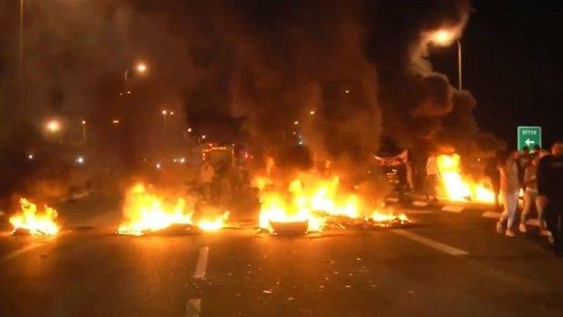 Протест на юге. Фото: Рои Идан