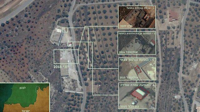 Graphiques pour des tunnels du Liban à Israël (Photo: Porte-parole de Tsahal)