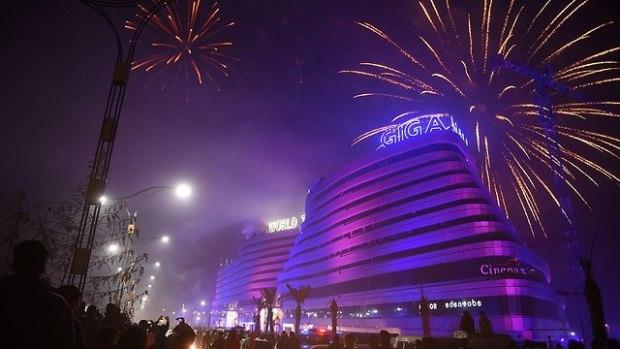 Пакистан встречает Новый год. Фото: AFP