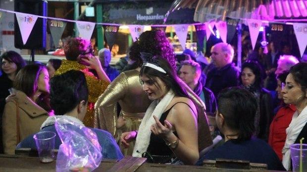 Тель-Авив, новогодняя ночь. Фото: Моти Кимхи
