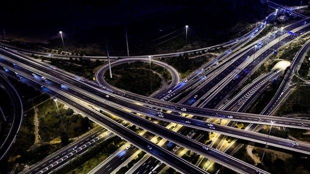 Дорожная развязка Эйн ха-коре на шоссе № 431. Фото: Исраэль Бардуго