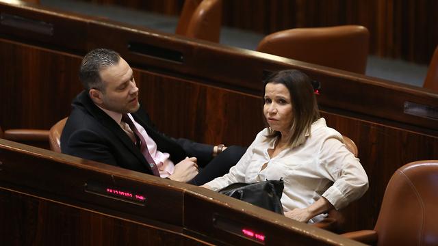Shelli Yachimovich et Miki Zohar