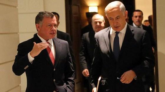 Jordan Abdullah's meeting at Jordan with Prime Minister Benjamin Netanyahu