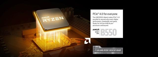AMD RYZEN of the motherboard