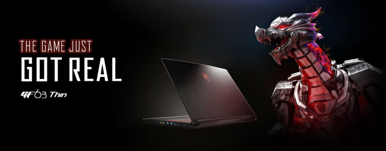 MSI GF63 NEPAL, msi gaming laptop nepal, msi gf63 i7 nepal