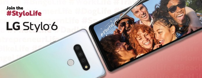 Lg Stylo 6 64gb Smartphone Unlocked White Newegg Com