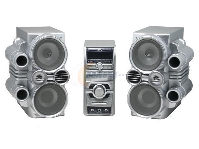 Jvc Cd Mp3 Radio Mini Audio System Hx C6 Shelf System