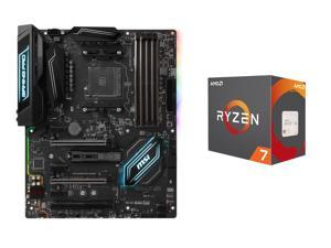 AMD RYZEN 7 1700X 8-Core 3.4 GHz (3.8 GHz Turbo) Socket AM4 95W YD170XBCAEWOF Processor, MSI X370 GAMING PRO CARBON AM4 AMD ...