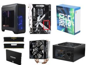 Intel Core i5-7600K Kaby Lake Quad-Core 3.8 GHz, ASRock Z270 KILLER SLI/AC MB, CORSAIR Vengeance LPX 16GB DDR4 3000, 250GB ...