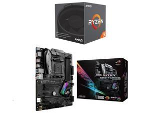 AMD RYZEN 3 1200 4-Core 3.1 GHz (3.4 GHz Turbo) Socket AM4 65W YD1200BBAEBOX Desktop Processor, ASUS ROG STRIX B350-F GAMING ...