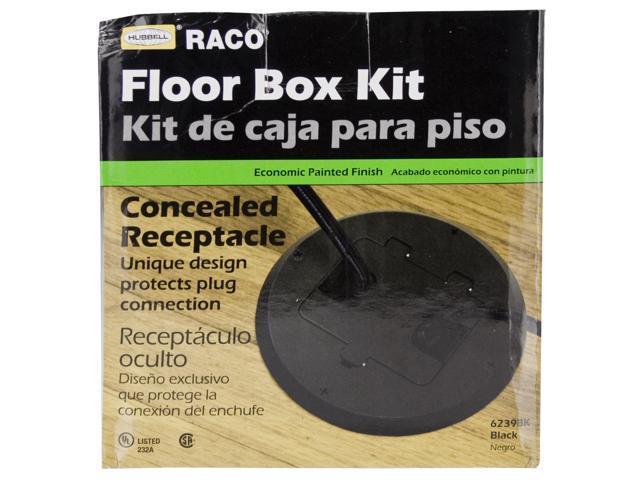 Raco Floor Receptacles Drop