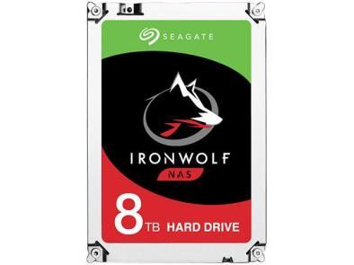 Seagate IronWolf 8TB NAS Hard Drive 7200 RPM 256MB Cache SATA 6.0Gb/s 3.5