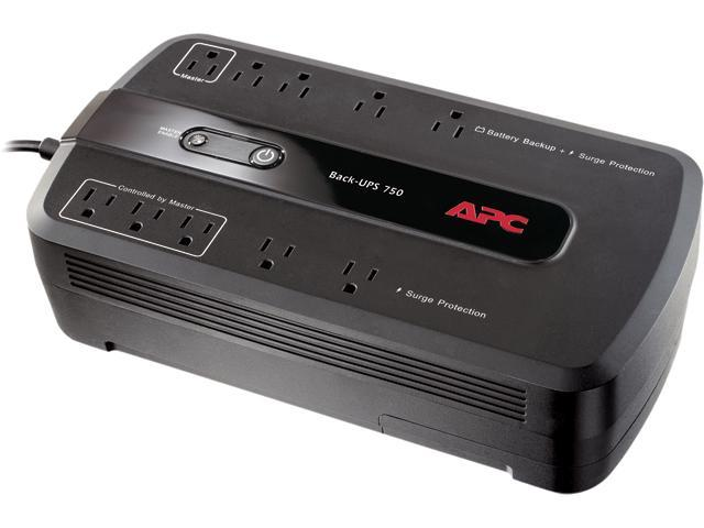 APC BE750G Back-UPS 750 VA 10-outlet Uninterruptible Power