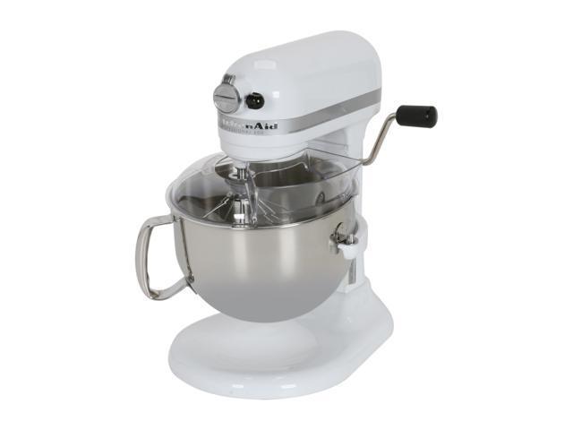 KitchenAid KP26M1XWH Professional 600 6 Quart Stand Mixer