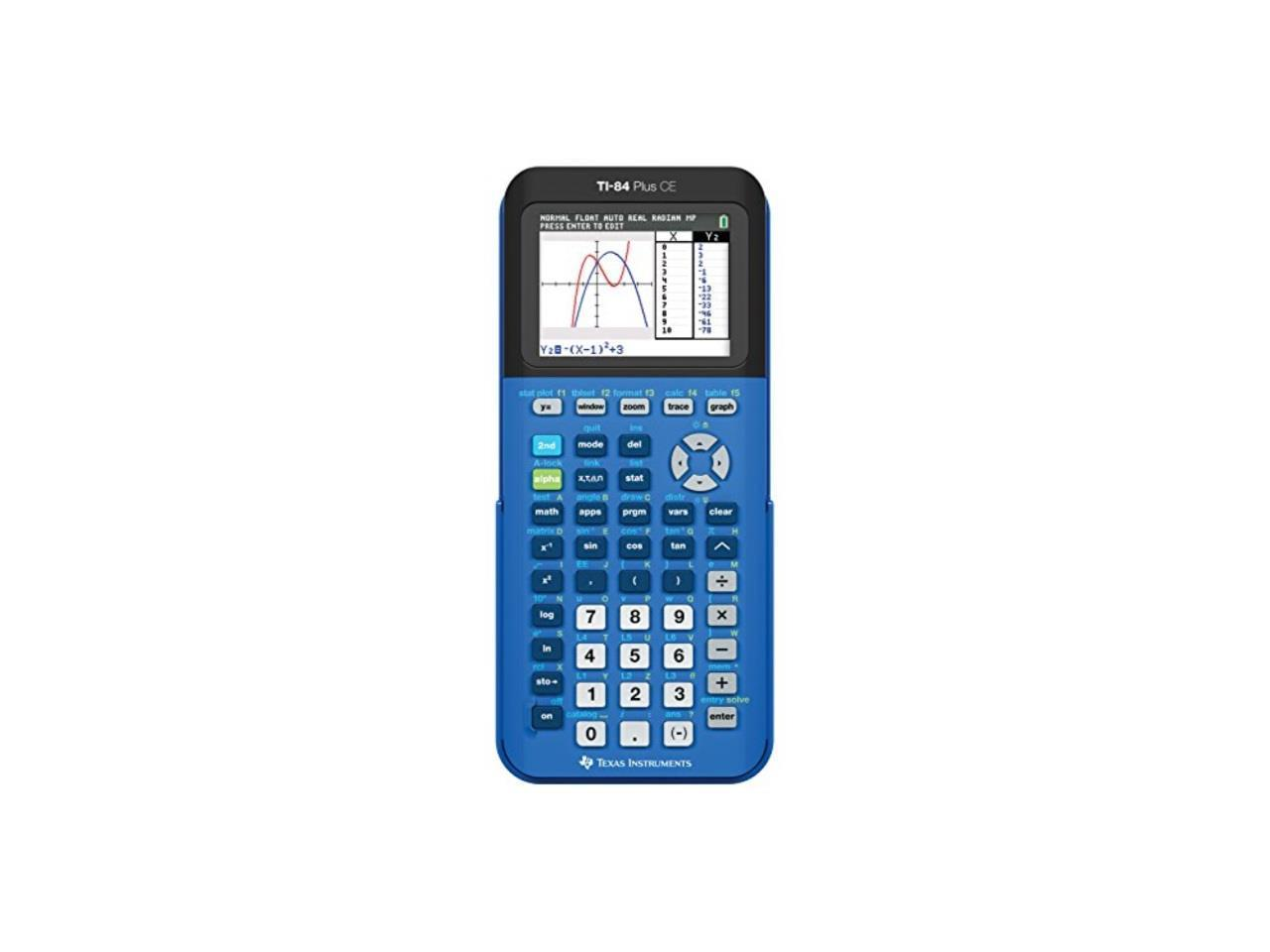 Texas Instruments Ti 84 Plus Ce Graphing Calculator Blue
