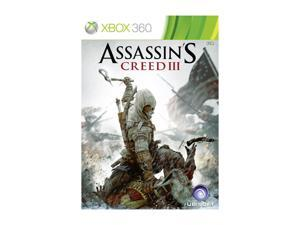 Assassins Creed III Xbox 360 Game UBISOFT