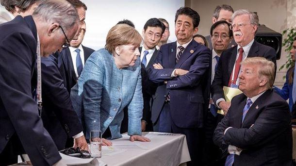 Cumbre G-7. Foto: EFE