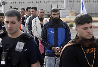Palestinian prisoners none the worse for the wear leaving Israeli country club prison