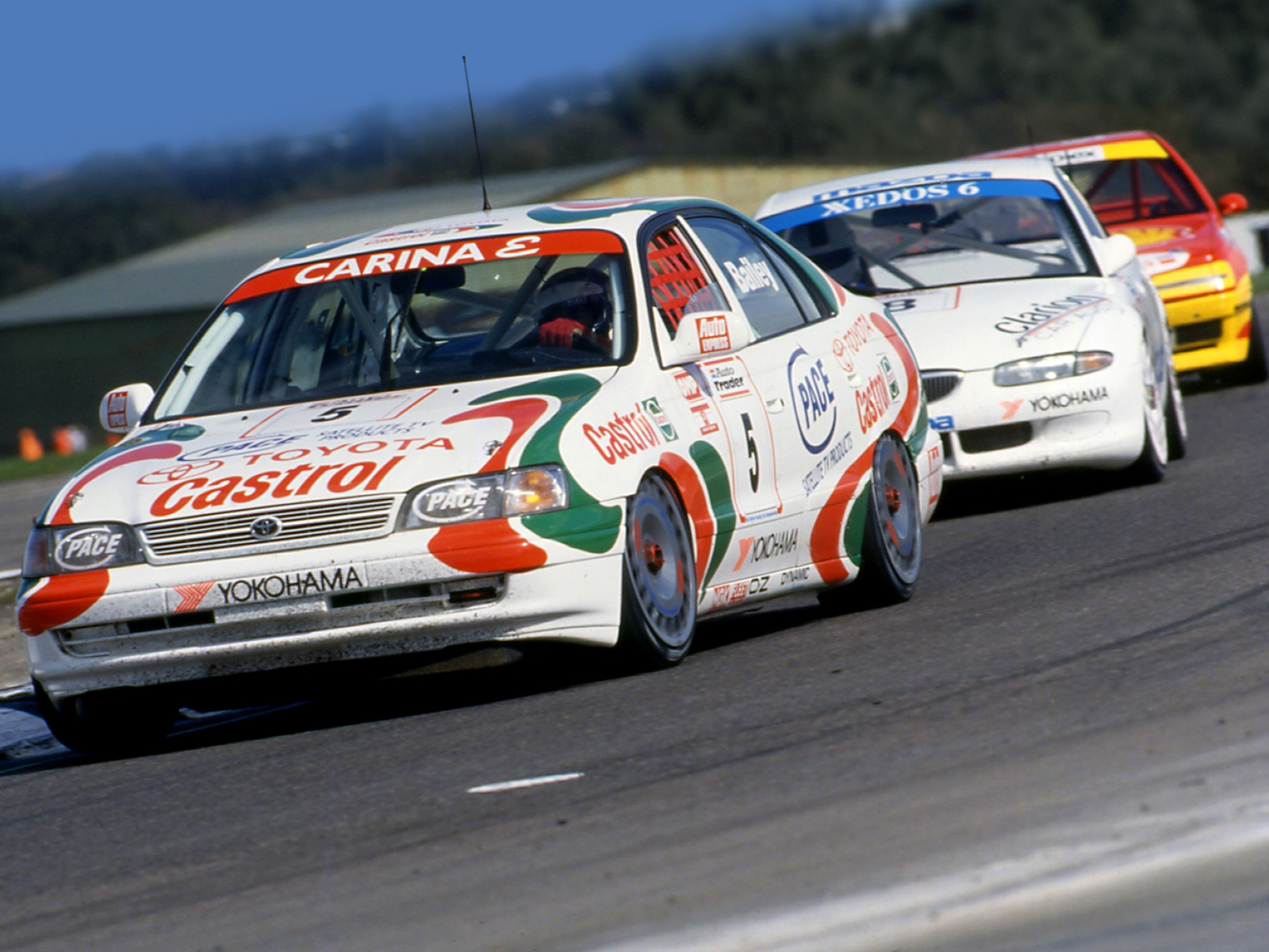 Toyota Carina E BTCC AT190 199496 Wallpaper And