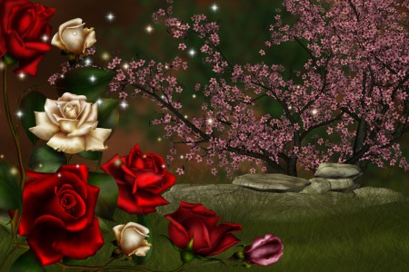 Rose Fantasy HD Wallpaper   Background Image   2606x1725   ID 681576     Wallpapers ID 681576