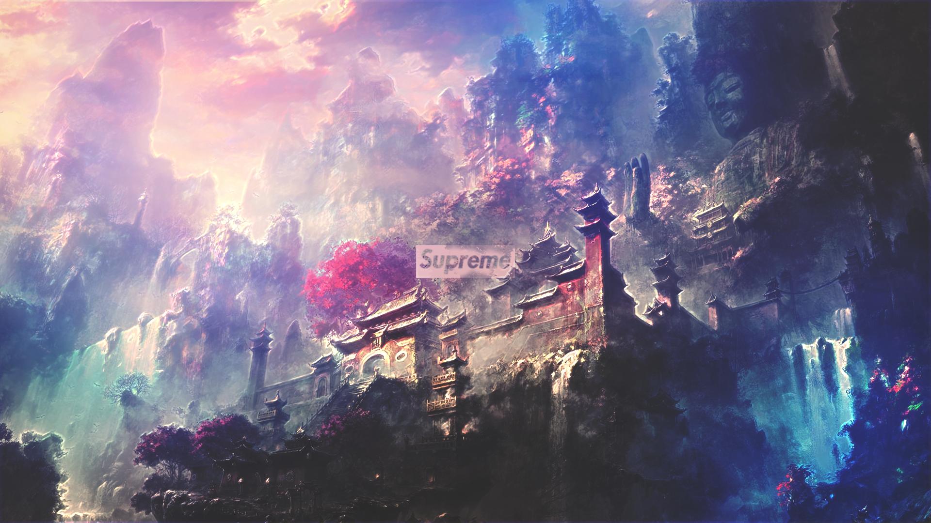 Supreme Temple Desktop Full Hd Wallpaper Hd Wallpaper Background Image 1920x1080 Id 902946 Wallpaper Abyss