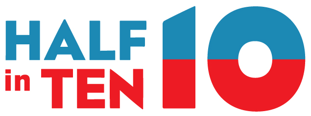 Half-In-Ten Logo