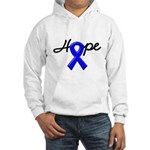 Hope Blue Ribbon Hooded Sweatshirt