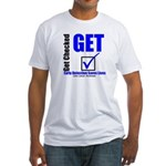 Colon Cancer Get Checked Fitted T-Shirt