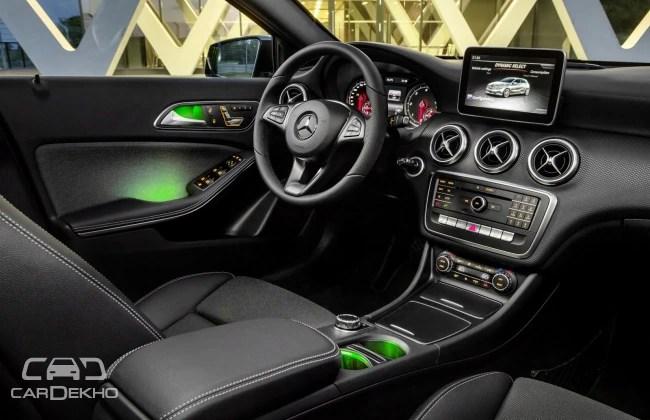 Mercedes-Benz A-class (Interior)