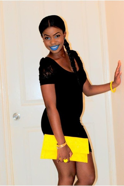 Black-h-m-dress-yellow-bag_400