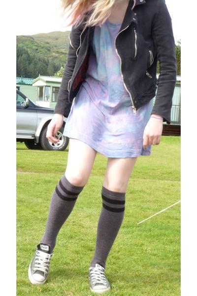Biker Jackets Tie Dye HampM Dresses Knee High Asda Socks