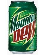 Una lattina di Mountain Dew