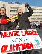 Protesta dei dipendenti