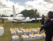 Un aereo carico di cocaina sequestrato