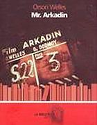 La copertina de «Il signor Arkadin»