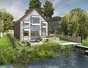 Il progetto della casa galleggiante